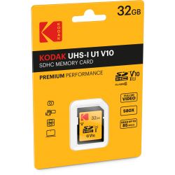 Kodak SDHC 32GB Class10 U1 V10