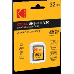 Kodak SDHC 32GB Class10 U3 V30