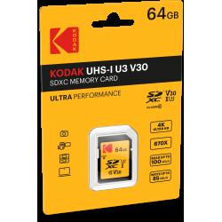 Kodak SDHC 64GB Class10 U3 V30