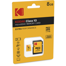 Kodak microSDHC 8GB Class10...